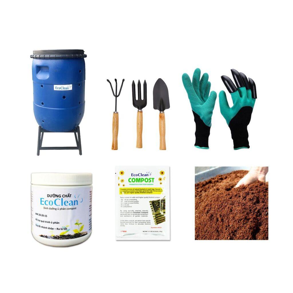 Combo ủ phân compost