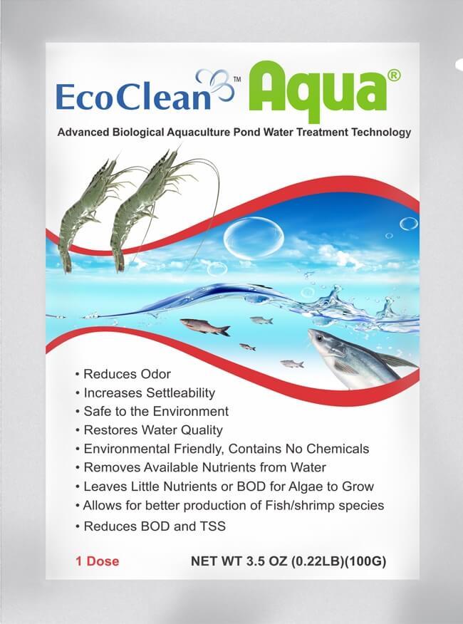 Chế phẩm vi sinh xử lý nước ao nuôi EcoClean Aqua