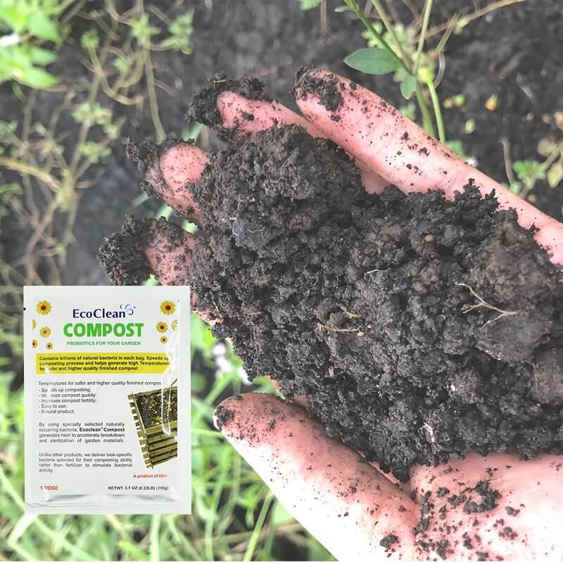EcoClean Compost sản phẩm chuyên dành cho quy trình ủ phân compost